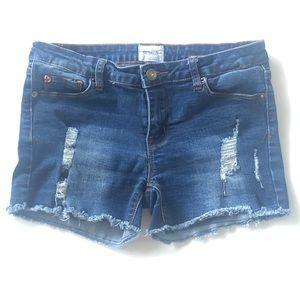 16 Hudson Girls Denim Shorts Cutoffs Distressed